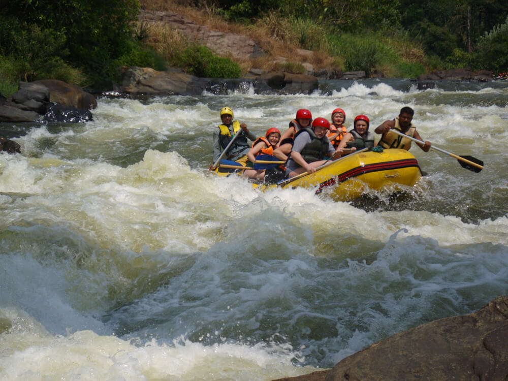 Wildwasser-Rafting in Kitulgala